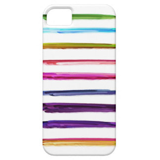 Abstract Painting | Colorful Paint Brush Strokes iPhone 5 Case