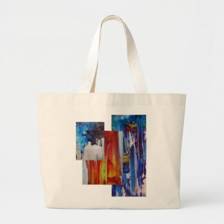 abstract painting design bag