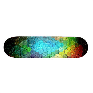 Abstract Painting Dynamic Colors 3 Skateboard Deck