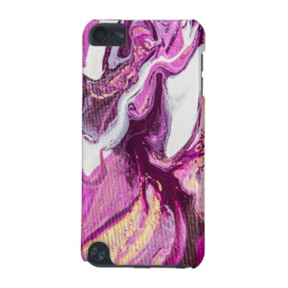 Abstract Painting Fluid Purple and Gold iPod Touch (5th Generation) Case