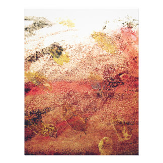 Abstract Painting Letterhead Template