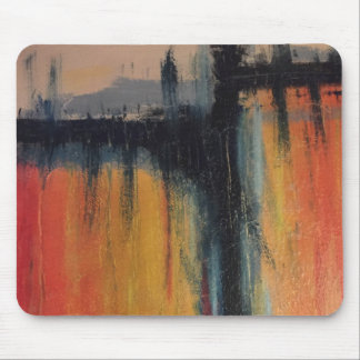 abstract painting mouse pad