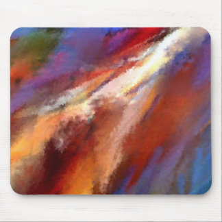 Abstract Painting Mouse Pad Designs - WIND 1