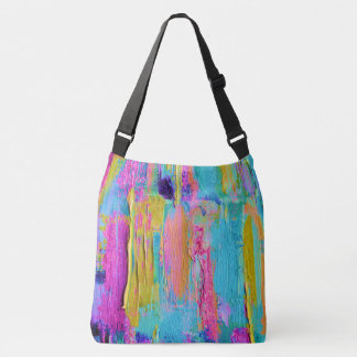 Abstract Painting Print All Over Bag