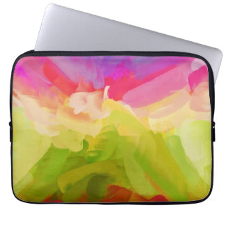 Abstract Painting   Spring Colors Laptop Sleeve