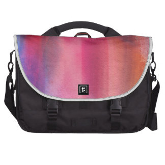 Abstract paints laptop computer bag