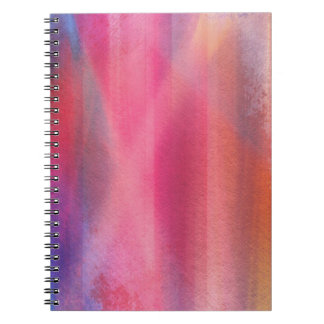 Abstract paints notebooks