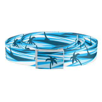 Abstract palm trees belt