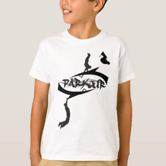 Abstract Parkour Flip T Shirts