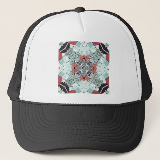 Abstract Pastel Mandala Trucker Hat