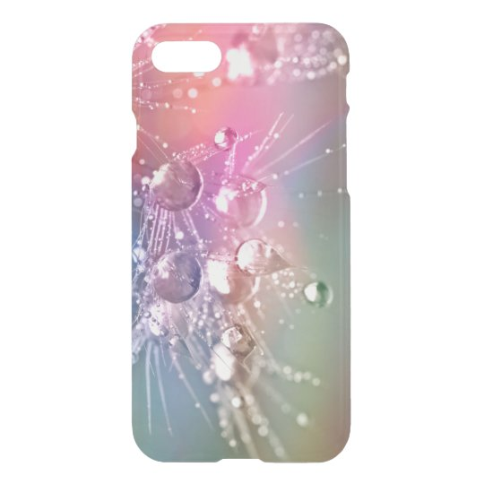 Abstract Pastel Rainbow Drop of Water iPhone 8/7 Case