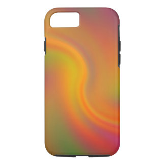 Abstract Pastel Swirl iPhone 7 (Tough) Cover