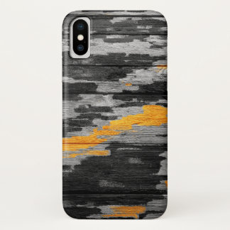 Abstract Pastel Wood iPhone X Case