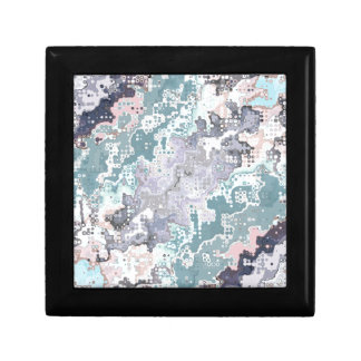 Abstract Pastels Pattern Gift Box