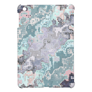 Abstract Pastels Pattern iPad Mini Cover