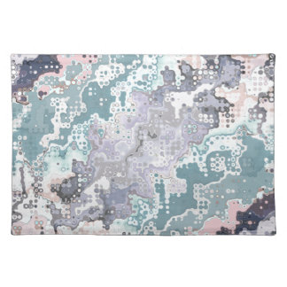 Abstract Pastels Pattern Placemat
