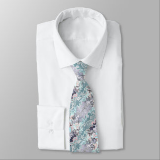 Abstract Pastels Pattern Tie