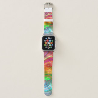 Abstract pattern apple watch band