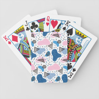 Abstract Pattern Bicycle Playing Cards
