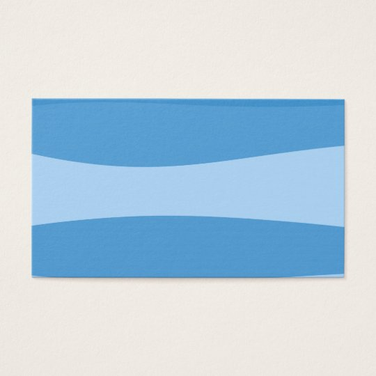 Abstract pattern - blue. business card