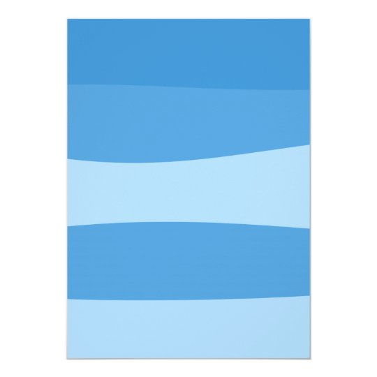 Abstract pattern - blue. card