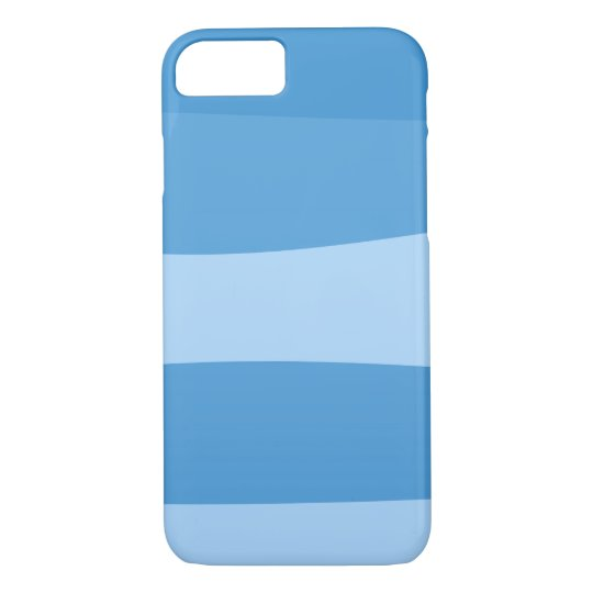 Abstract pattern - blue. iPhone 8/7 case
