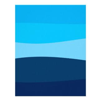 Abstract pattern - blue. letterhead