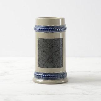Abstract Pattern blue Coffee Mugs