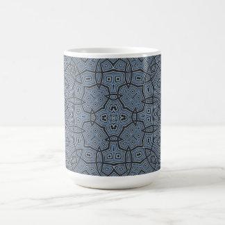 Abstract Pattern Blue Mug