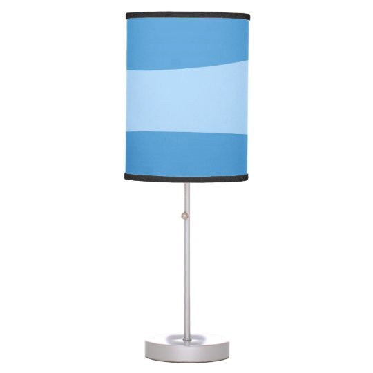 Abstract pattern - blue. table lamp