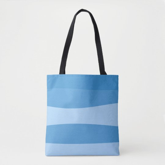 Abstract pattern - blue. tote bag