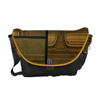 abstract pattern commuter bag