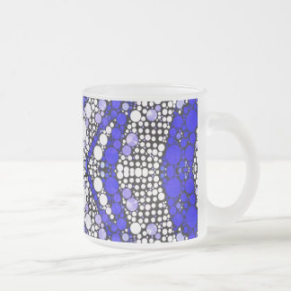 Abstract Pattern Custom Frosty Mugs