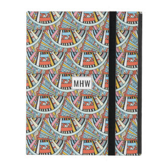 Abstract Pattern custom monogram device cases
