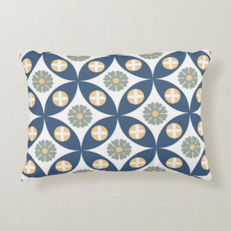 Abstract pattern design accent pillow