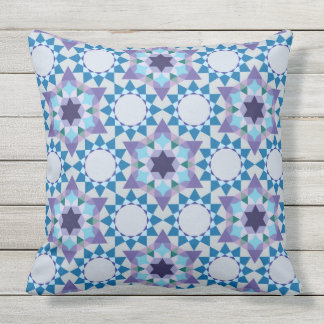 Abstract pattern design outdoor pillow