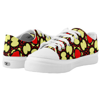 Abstract pattern different unique art Low-Top sneakers