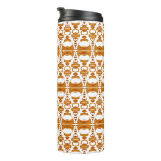 Abstract Pattern Dividers 02 Orange Brown White