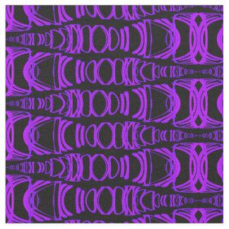 Abstract Pattern Dividers 07 Purple Pink Black Fabric
