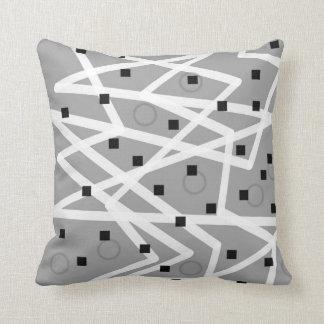 abstract pattern geometric modern design pillow