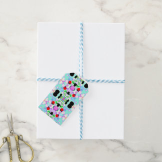 Abstract pattern gift tags