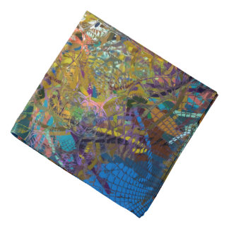 Abstract Pattern Glass Effect Bandana