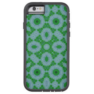 Abstract Pattern green blue Tough Xtreme iPhone 6 Case