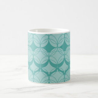 Abstract pattern - green. coffee mug
