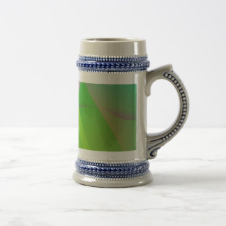 Abstract Pattern Green Grass Mugs