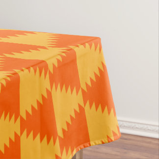 Abstract Pattern Halloween ColorsTablecloth Tablecloth