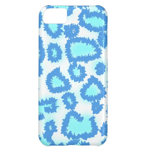 Abstract Pattern in Blue and Turquoise. Case For iPhone 5C
