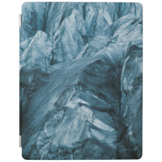 Abstract Pattern in Glacier | Iceland iPad Cover