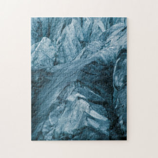 Abstract Pattern in Glacier   Iceland Jigsaw Puzzle