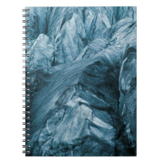 Abstract Pattern in Glacier | Iceland Notebook